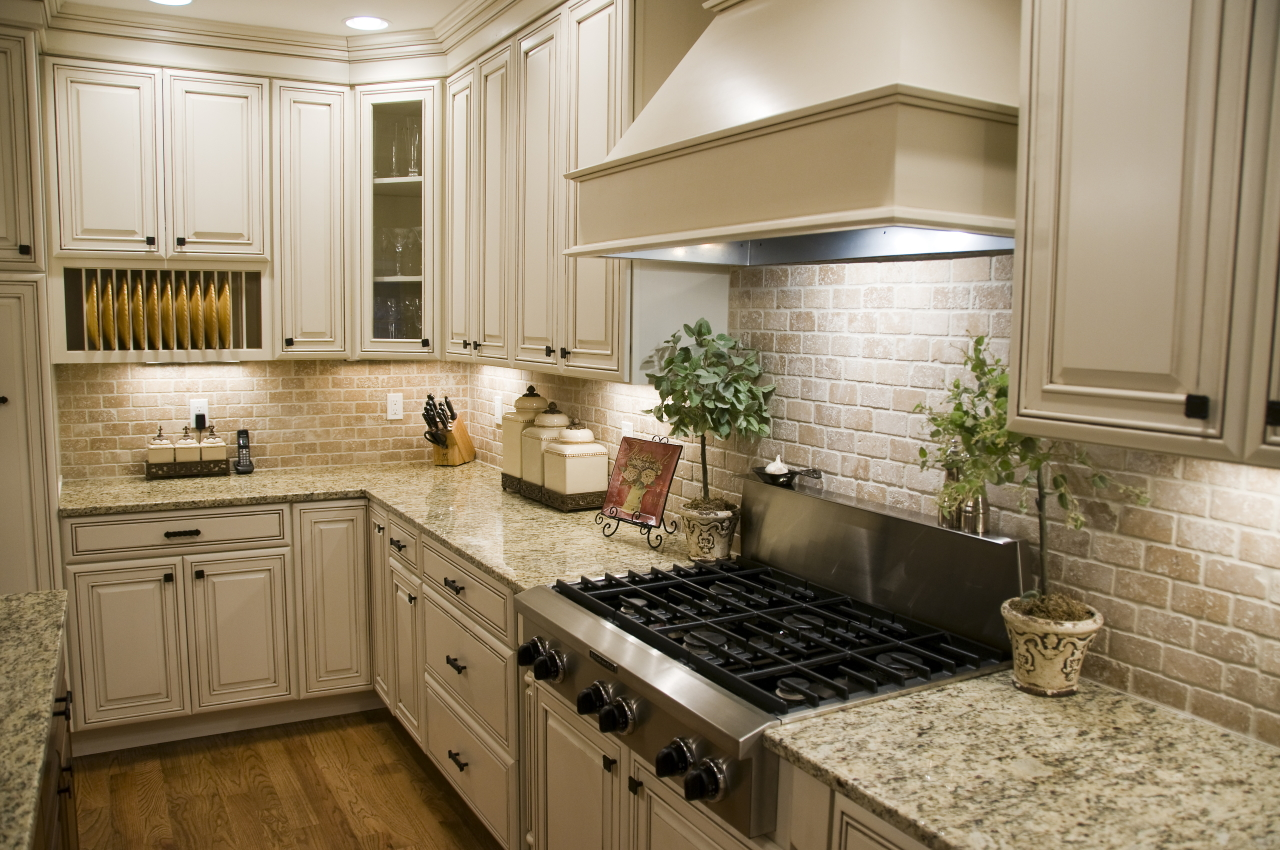 features for your new home include under-cabinet lighting