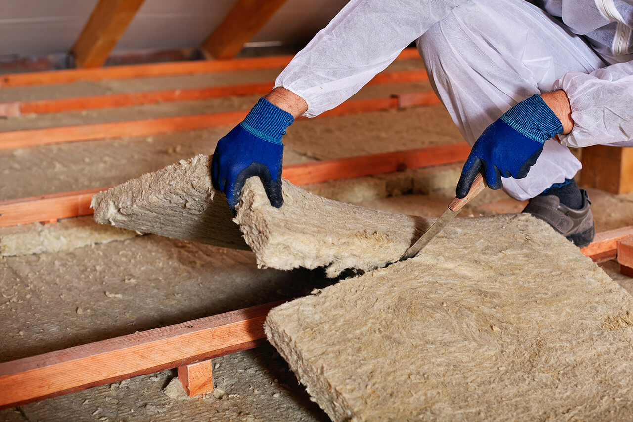 increase energy-efficiency at home by adding insulation