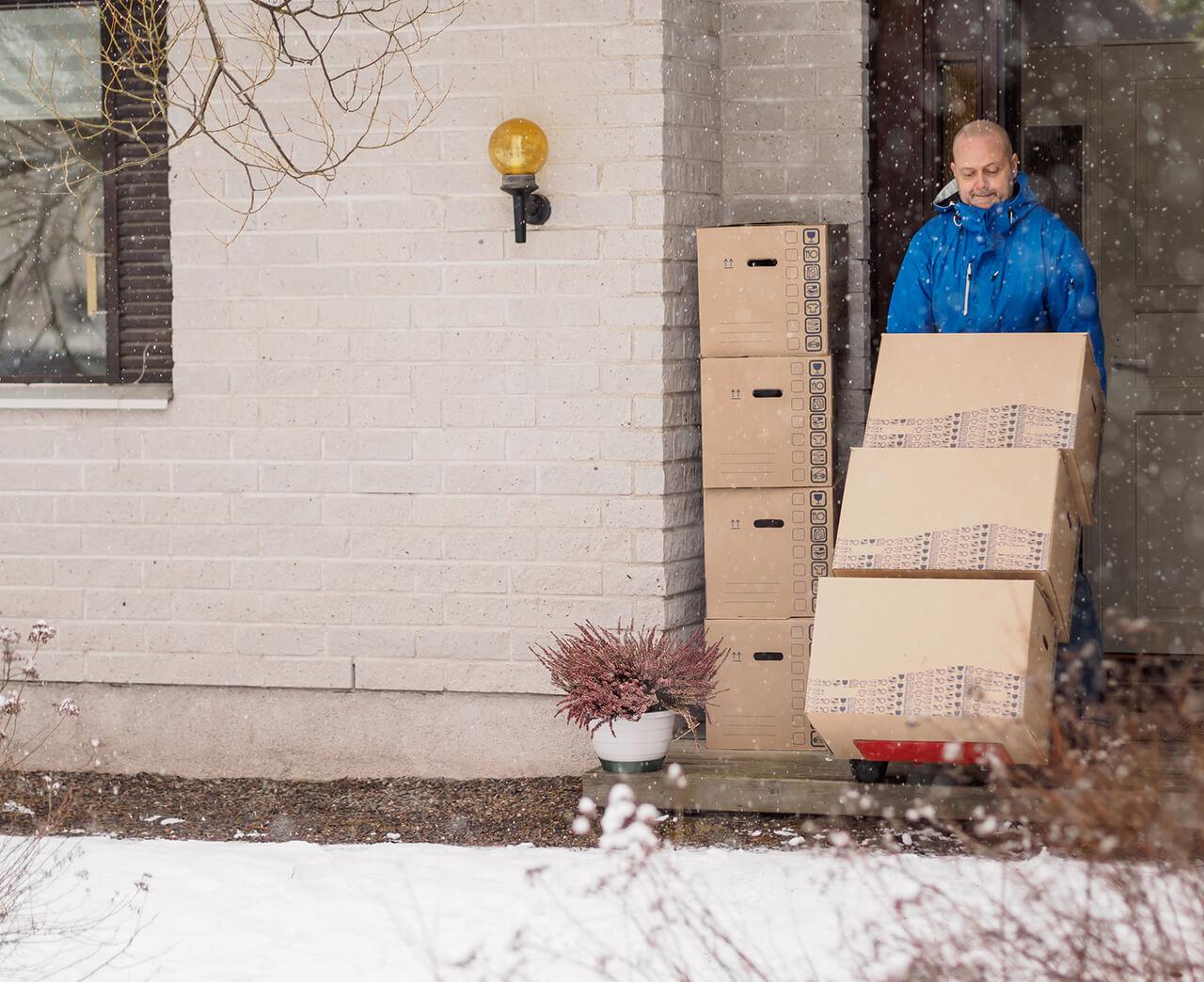 preparing for a winter move